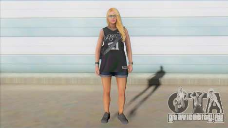 GTA Online Skin Ramdon Female Outher 4 V2 для GTA San Andreas