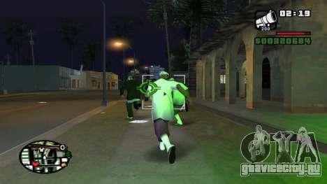Ped Fear Fix v2.0.1 для GTA San Andreas