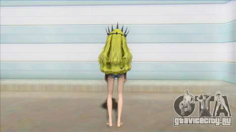Chariote Black rock shooter Bikini costume для GTA San Andreas