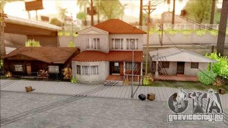 New Grove Houses для GTA San Andreas