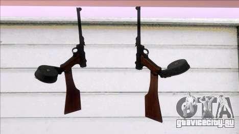 Screaming Steel Luger LP-08 для GTA San Andreas