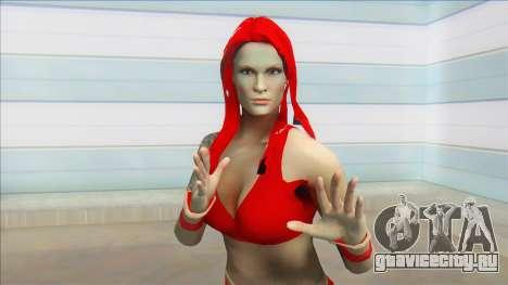 WWF Attitude Era Skin (lita2000) для GTA San Andreas