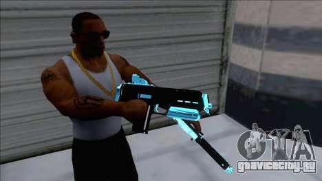 Weapons Pack Blue Evolution (microuzi) для GTA San Andreas
