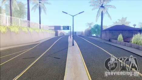 New Roads in Los Santos (V Styled) v1.0 для GTA San Andreas
