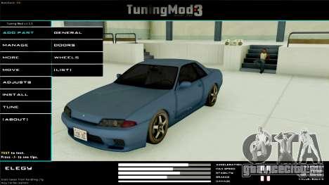 Tuning Mod v3.0.1 для GTA San Andreas
