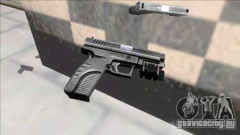 Resident Evil 4 default handgun для GTA San Andreas
