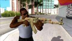 CSGO AK-47 Predator для GTA San Andreas