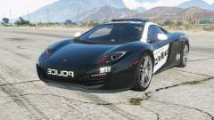 McLaren MP4-12C Hot Pursuit Policᶒ для GTA 5