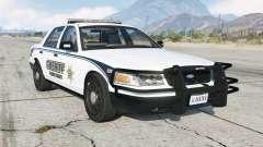Ford Crown Victoria Sheriff для GTA 5