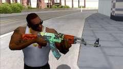 CSGO AK-47 Fire Serpent для GTA San Andreas
