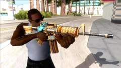 M4A1 Assault Rifle Skin 2 для GTA San Andreas