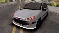 Peugeot 206 Sport для GTA San Andreas