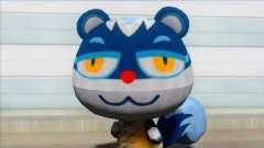Animal Crossing Tasha Skin Mod для GTA San Andreas