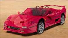 Ferrari F50 Spider 1995 [RHA] для GTA San Andreas