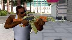 CSGO AK-47 Jaguar для GTA San Andreas