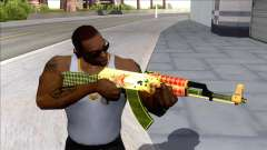 CSGO AK-47 Dragon Lore для GTA San Andreas