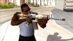 M4A1 Assault Rifle Skin 3 для GTA San Andreas