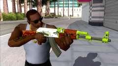 CSGO AK-47 Hydroponic для GTA San Andreas