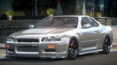 Nissan Skyline R34 BS Drift