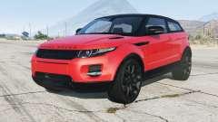 Range Rover Evoque 2012 для GTA 5