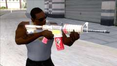 M4A1 Assault Rifle Skin 4 для GTA San Andreas