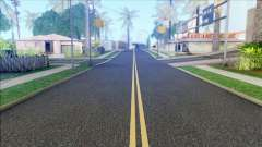 New Roads in Los Santos (V Styled) v1.0 для GTA San Andreas