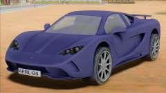 Vencer Sarthe Supercar для GTA San Andreas