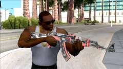 CSGO AK-47 Vanquish для GTA San Andreas
