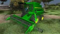 John Deere 1470 Combine Harvester для GTA San Andreas