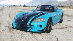 Dodge Viper SRT-10 ACR Hot Pursuit Police для GTA 5