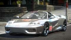2005 Ferrari 360 GT L10 для GTA 4