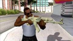 CSGO AK-47 Safari Mesh для GTA San Andreas