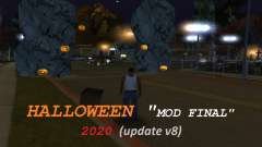 Halloween Mod Grove Street Final для GTA San Andreas