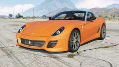 Ferrari 599 GTO 2010 no livery version для GTA 5
