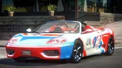 2005 Ferrari 360 GT L3 для GTA 4