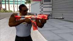 M4A1 Assault Rifle Skin 6 для GTA San Andreas