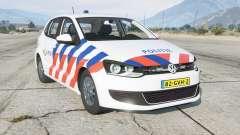 Volkswagen Polo 5-door (Typ 6R) Politie для GTA 5
