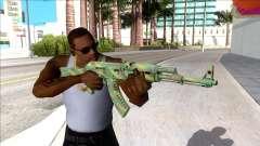 CSGO AK-47 Jungle Spray для GTA San Andreas
