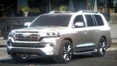 2018 Toyota Land Cruiser для GTA 4
