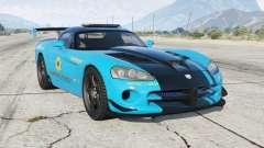 Dodge Viper SRT-10 ACR Hot Pursuit Policᶒ для GTA 5