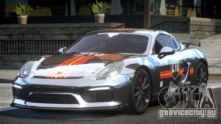 Porsche Cayman GT4 L7 для GTA 4