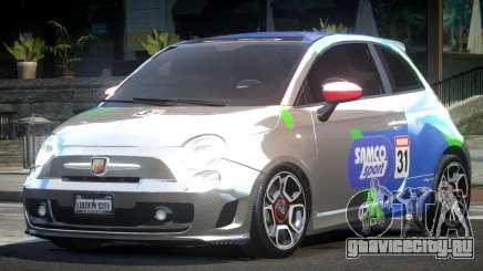 Fiat Abarth Drift L3 для GTA 4