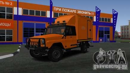 УАЗ Hunter ППУ-500 для GTA San Andreas