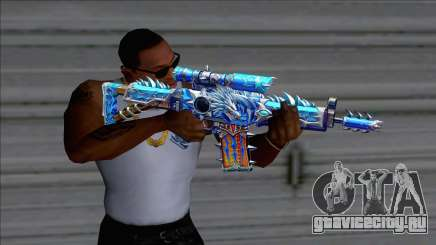 SG552 Lycantrope Aqua для GTA San Andreas