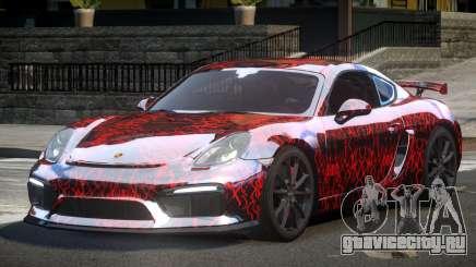 Porsche Cayman GT4 L2 для GTA 4