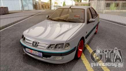 Peugeot Pars Toyo Tires для GTA San Andreas