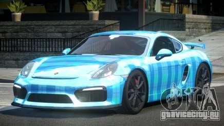 Porsche Cayman GT4 L10 для GTA 4