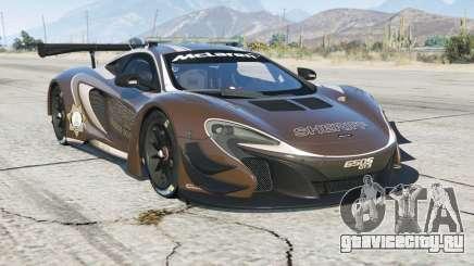 McLaren 650S GT3 Pursuit Editioᵰ для GTA 5