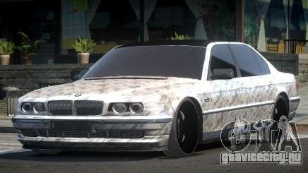 1999 BMW 760Li E38 Drift PJ7 для GTA 4