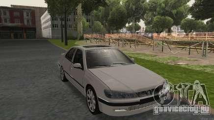 PEUGEOT 406 No Plates для GTA San Andreas